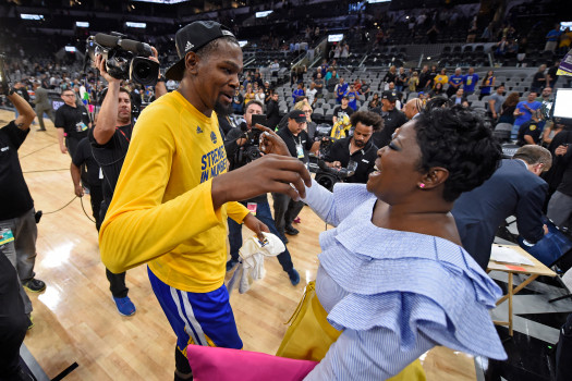 MVP mamas hype after Warriors' Game 3 win