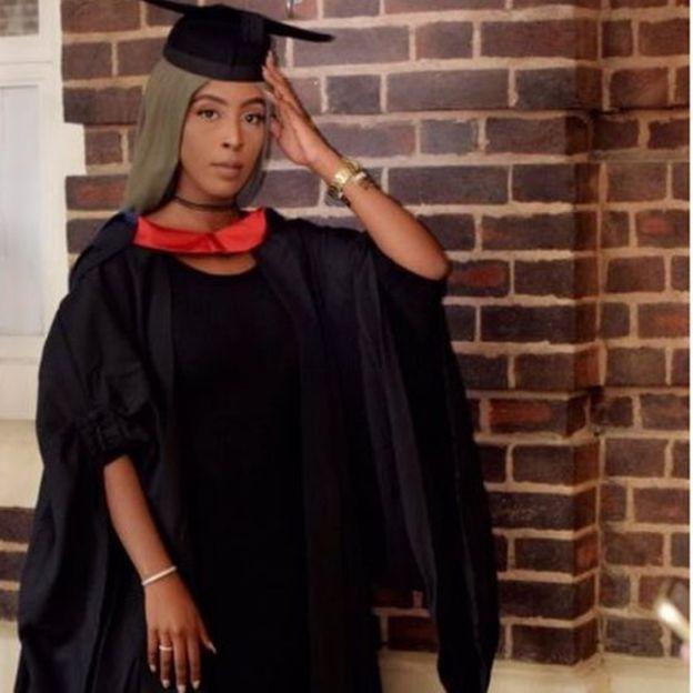 UK graduate honors mom who fled Somali Civil War for better life