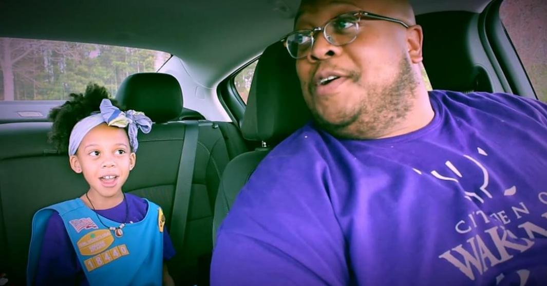 Black Dad Spotlight: Georgia duet sings way to more Girl Scout cookie sales