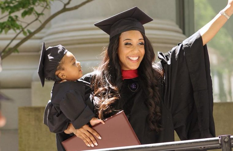 24-year-old single mother beats odds, graduates from Harvard Law School