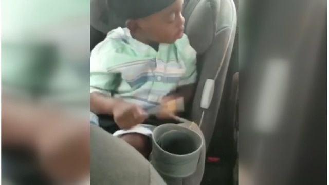 Alabama toddler plays drums in his sleep
