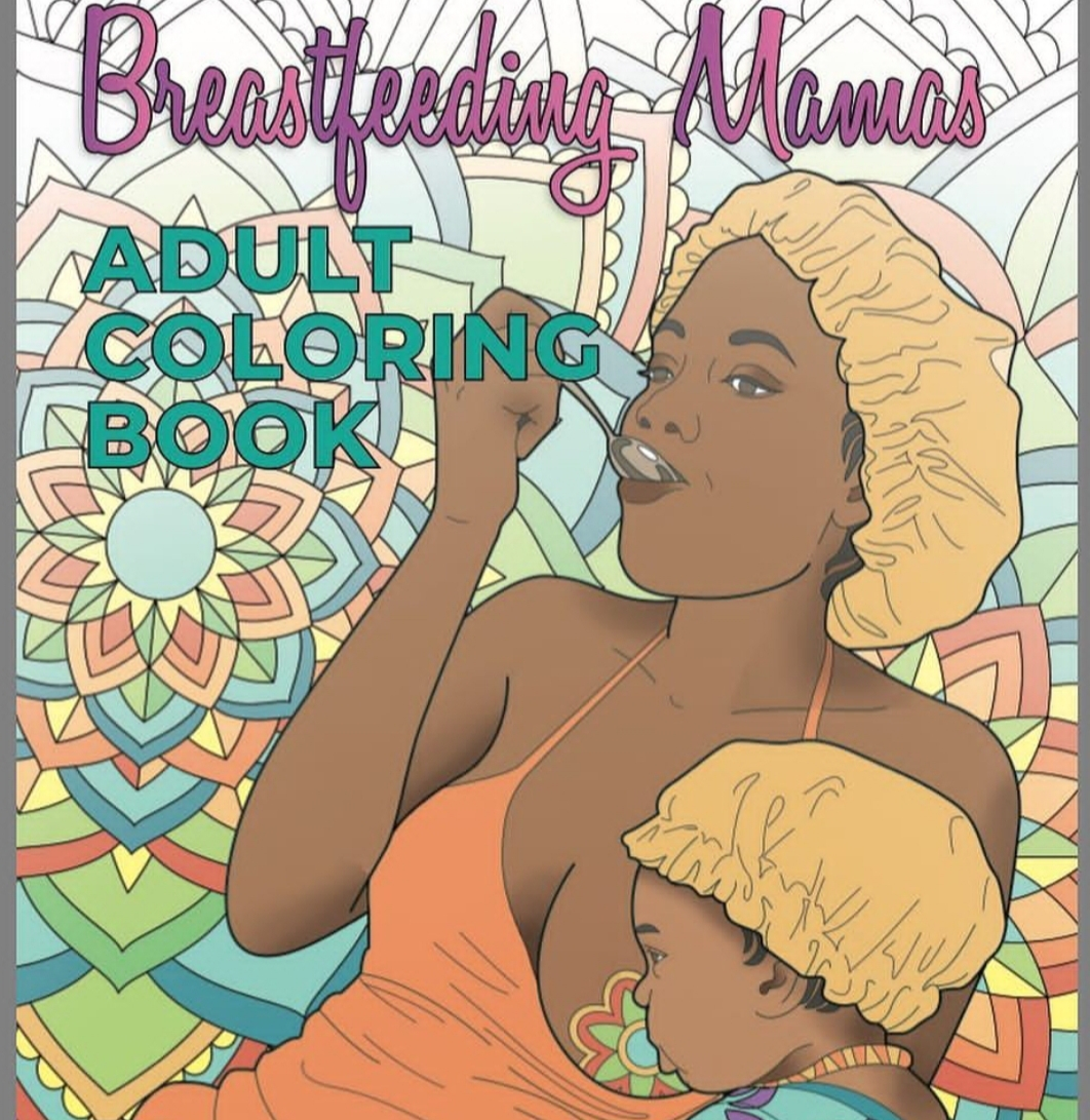 Baltimore mother combines two passions in breastfeeding adult coloring book