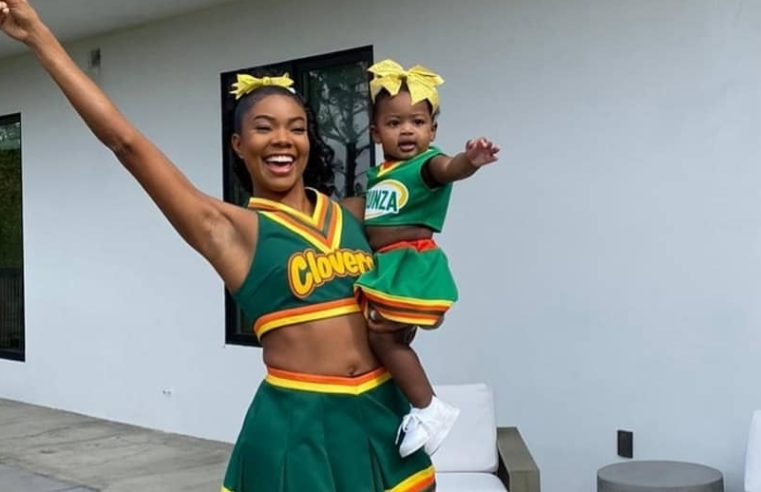 Gabrielle Union channels 28-year-old self for Halloween