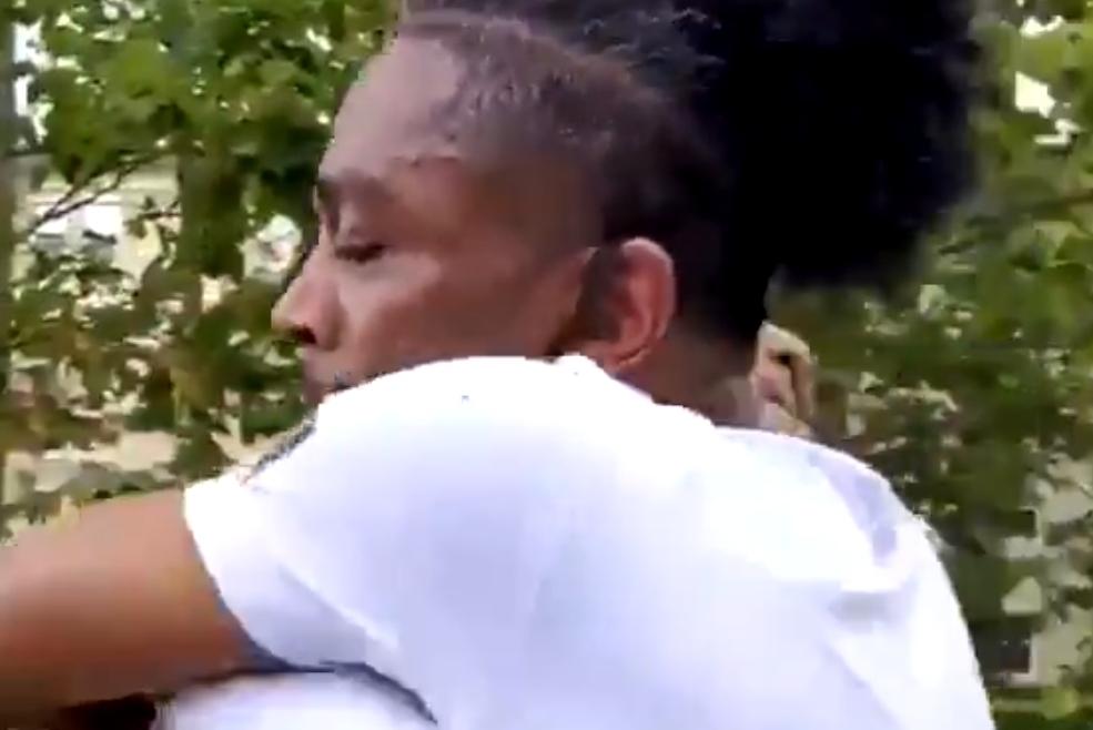 Black Dad Spotlight: Tearful father 'not ashamed' after emotional college dropoff