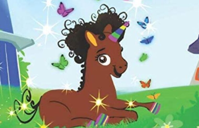 Children's book about brown unicorn helps Black girls see themselves as magical