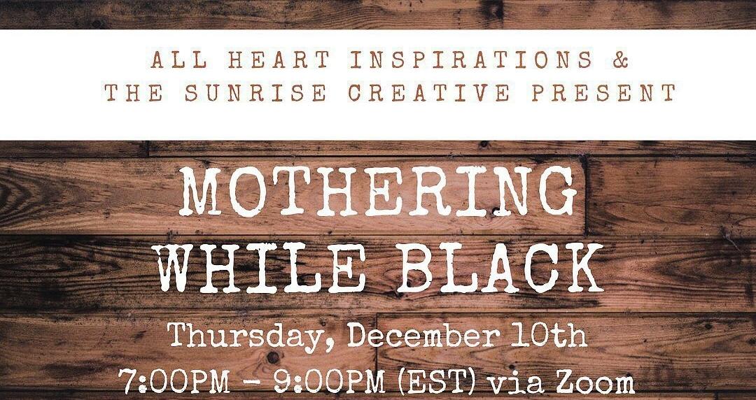 Northeastern-based moms create virtual workshop to support Black mothers