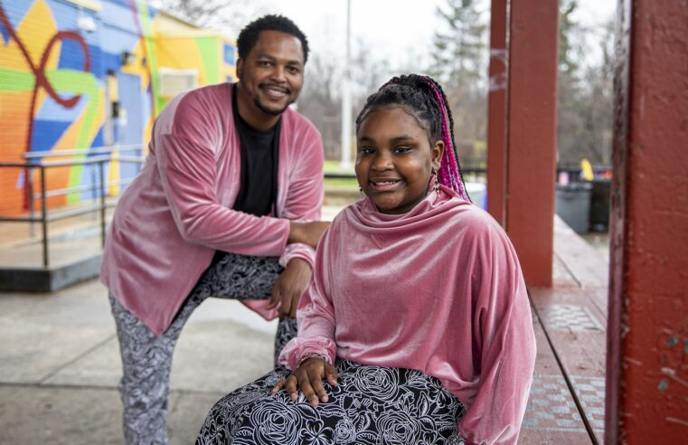 Philadelphia father sews custom fashions for his daughter