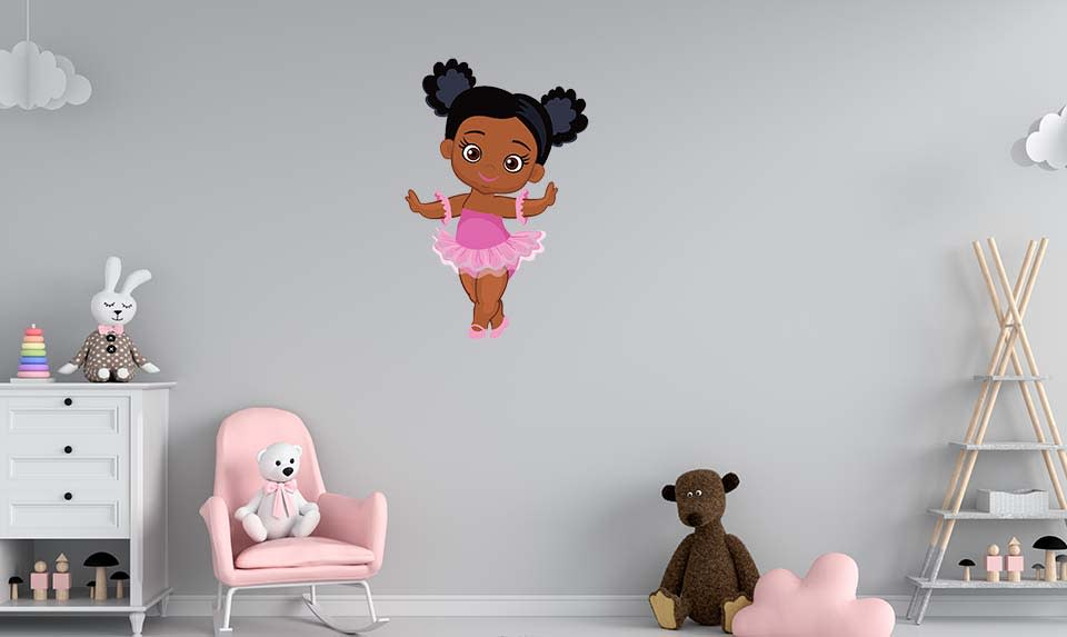 Why I designed these wall decals to inspire positive self image among Black children