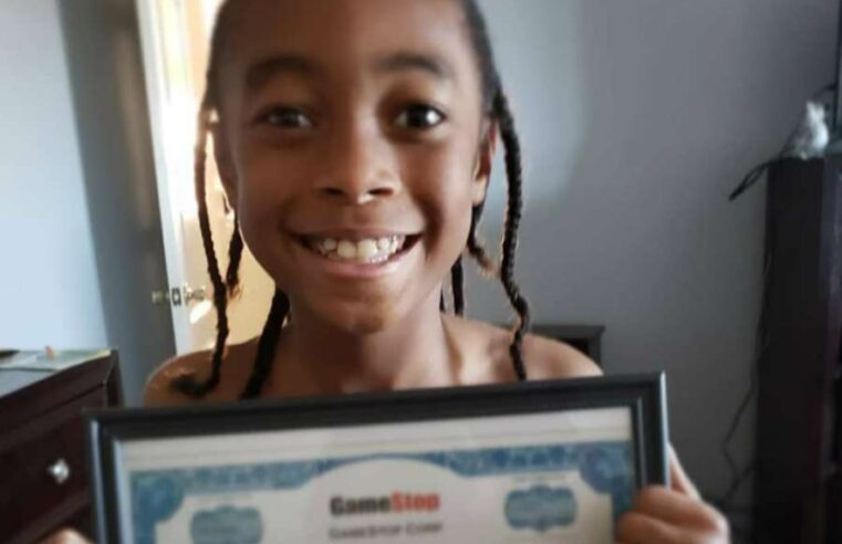 10-year-old cashes in on GameStop shares that mom gifted him for Kwanzaa