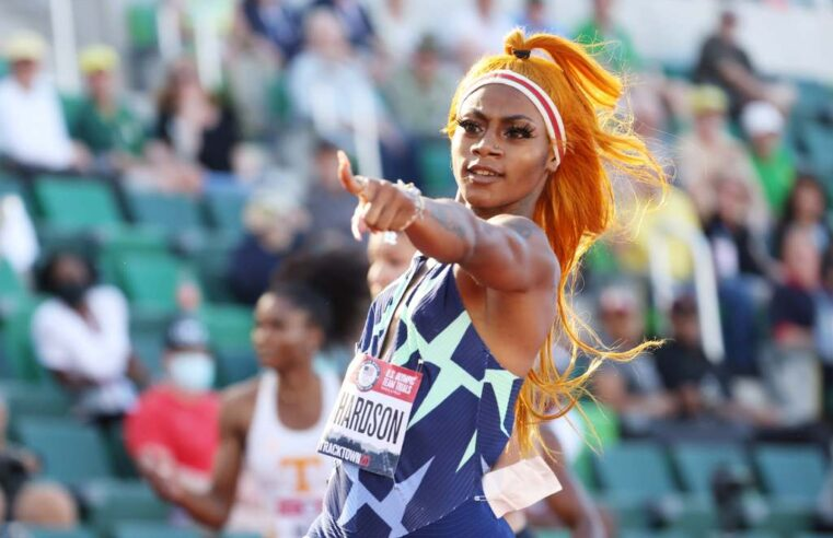 Fiery Sprinter Sha'Carri Richardson Qualifies for Olympics Days After Biological Mother Dies