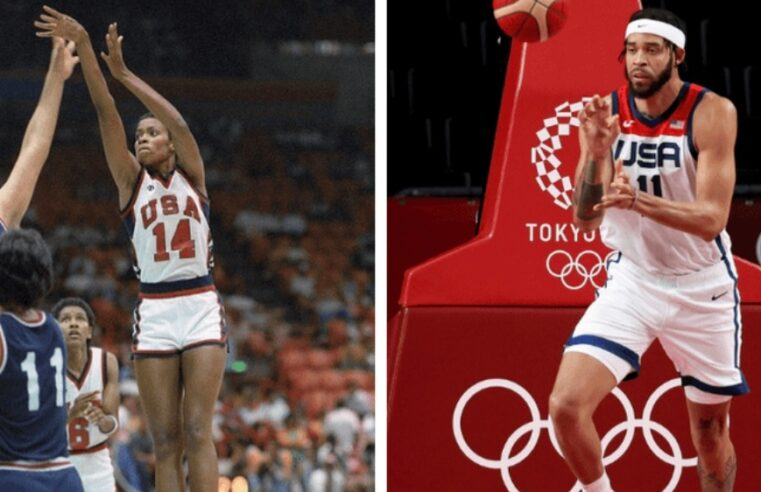 NBA's JaVale McGee Joins Mom As Olympic Gold Medalist