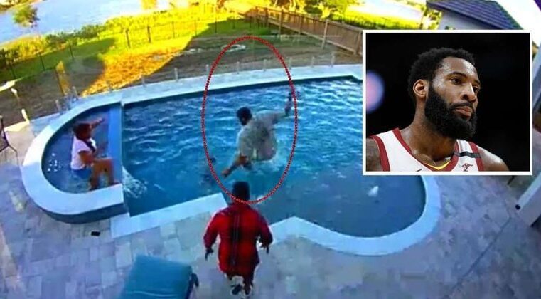 Not All Heroes Wear Capes: NBA champion Andre Drummond Leaps into Action to Save Son from Drowning